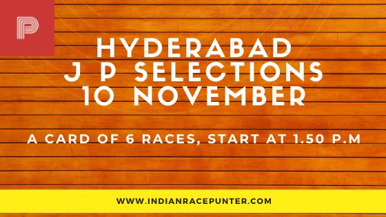 Hyderabad Jackpot Selections 10 November