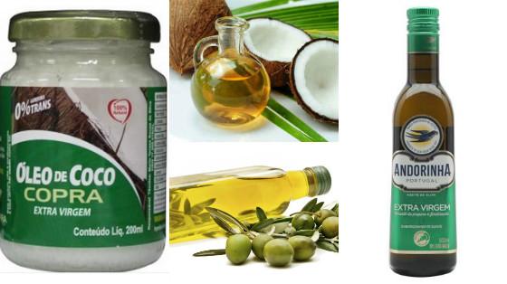 azeite ou oleo de coco qual melhor oleo para umectacao
