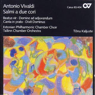 Vivaldi, A.: Beatus Vir in C Major / Domine Ad Adiuvandum Me Festina / Canta in Prato, Ride in Fonte