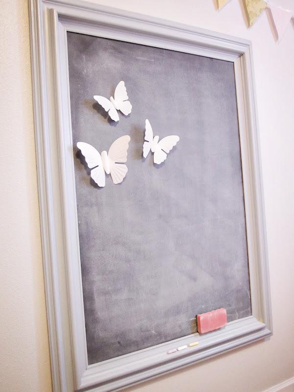 KrisKraft: Make Your Own Magnetic Chalkboard