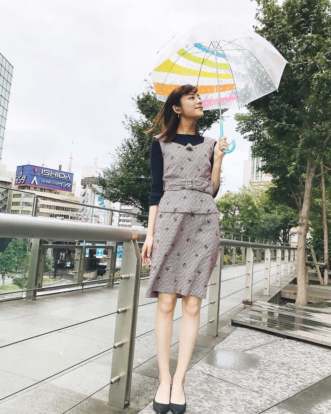 [연예] 일본 기상캐스터 키지마 아스카 -  와이드섬