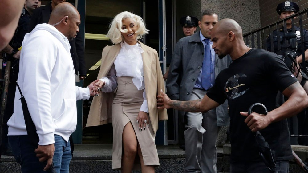 Cardi B Turns Herself In To Police Over Strip-Club Fight