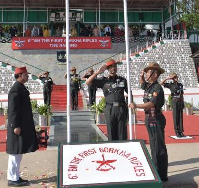 Historical First Gorkha Regiment gets new Battalion 6/1GR