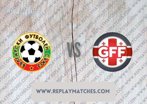 Bulgaria vs Georgia -Highlights 08 September 2021