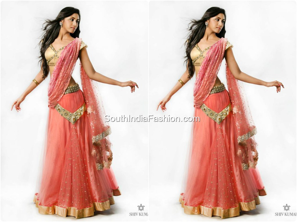 Trendy Half Saree By Bhargavi Kunam South India Fashion
