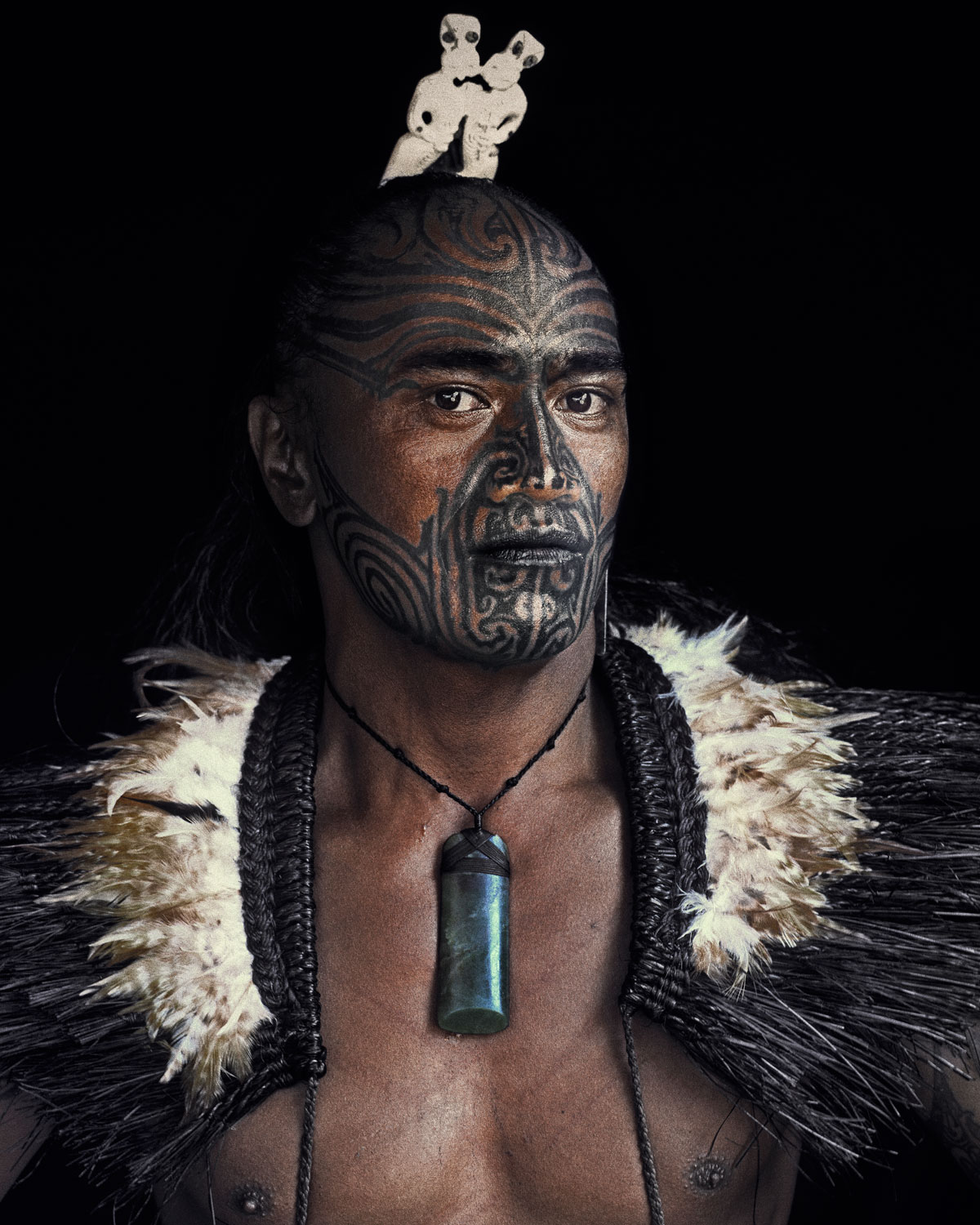Maori Culture: White Wolf : Stunning Portraits Of The Maori People By