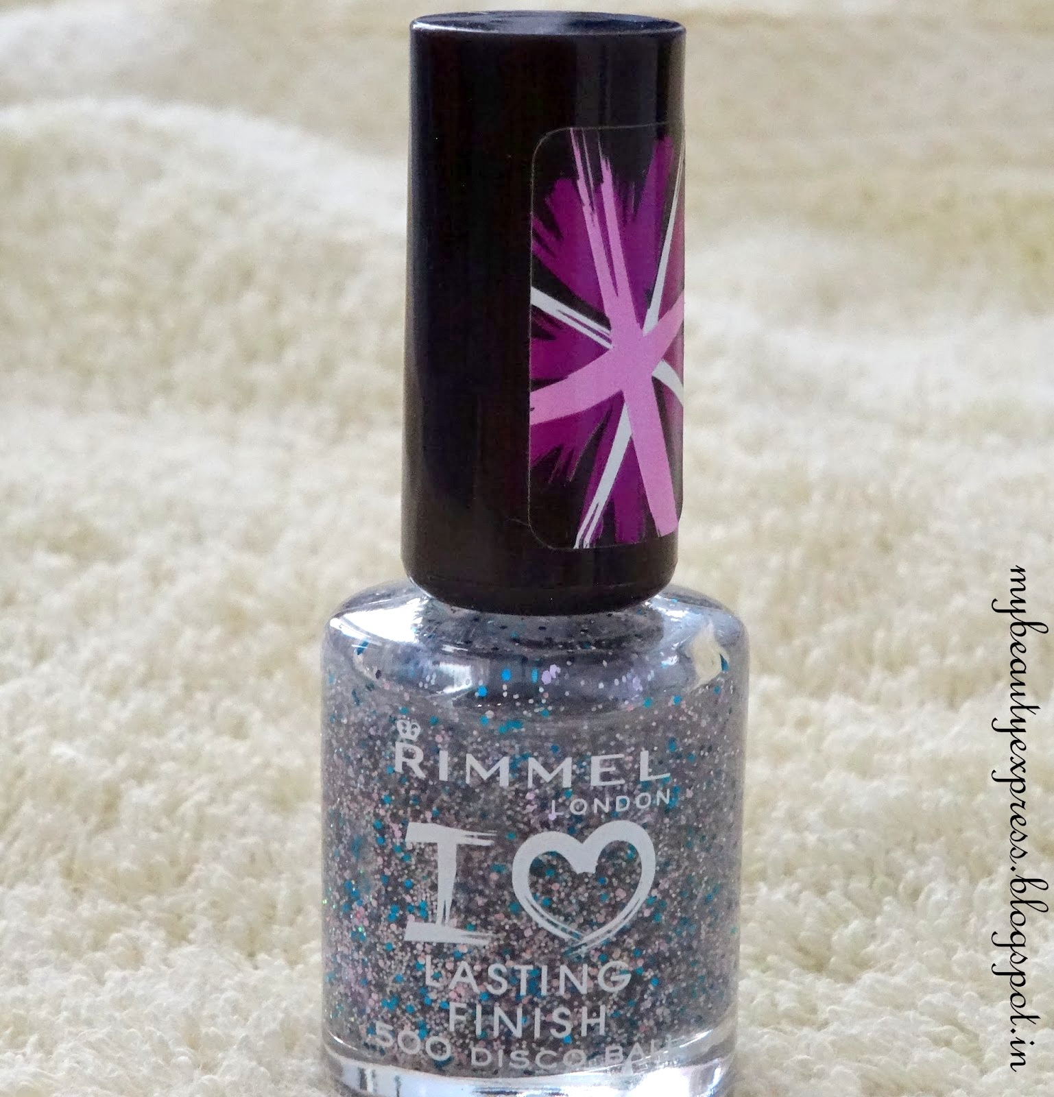 Rimmel Lasting Finish in Disco Ball (500) Review