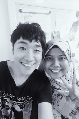 Farah & Sung Jin Hwan