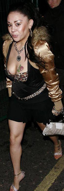 Mutya Buena, Worst Celebrity Cleavage Tattoos