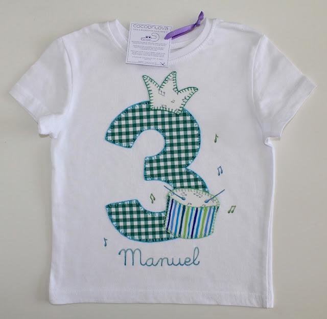 camiseta-cumpleaños-3años-tambor