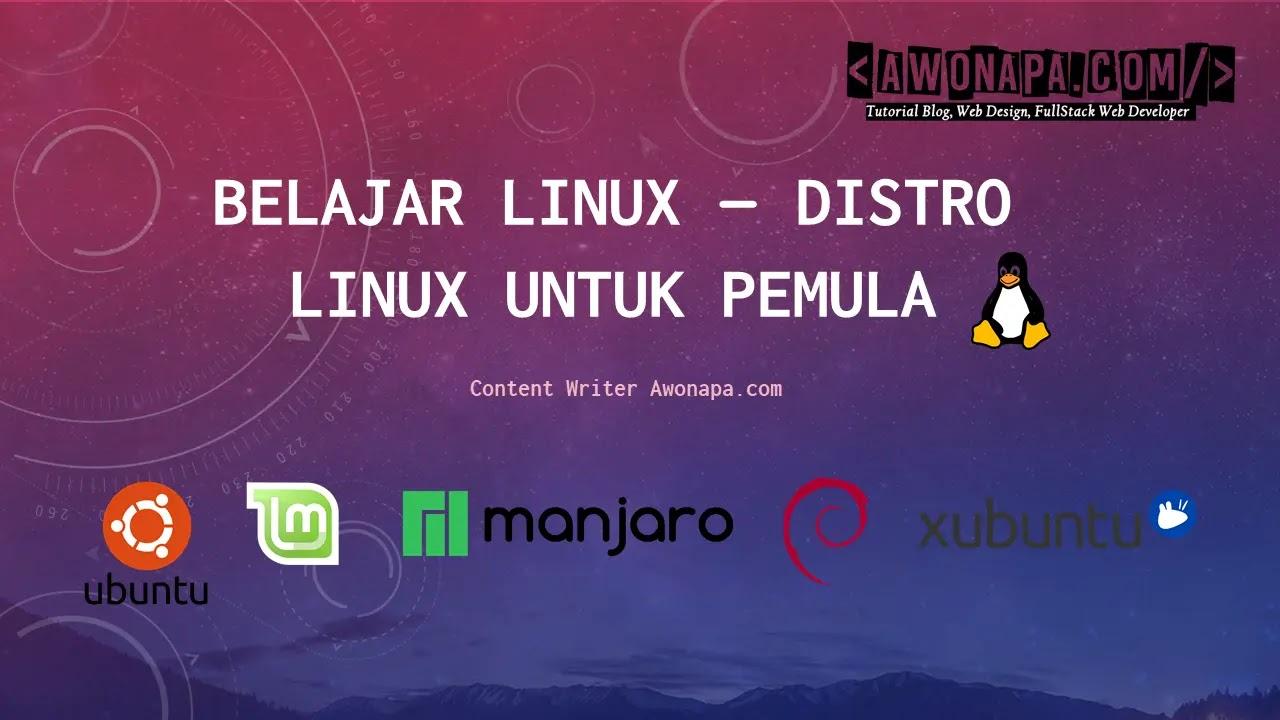Distro Linux Untuk Pemula