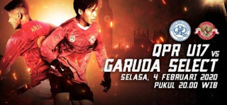 Berlangsung di Mola TV, Live Streaming QPR vs Garuda Select