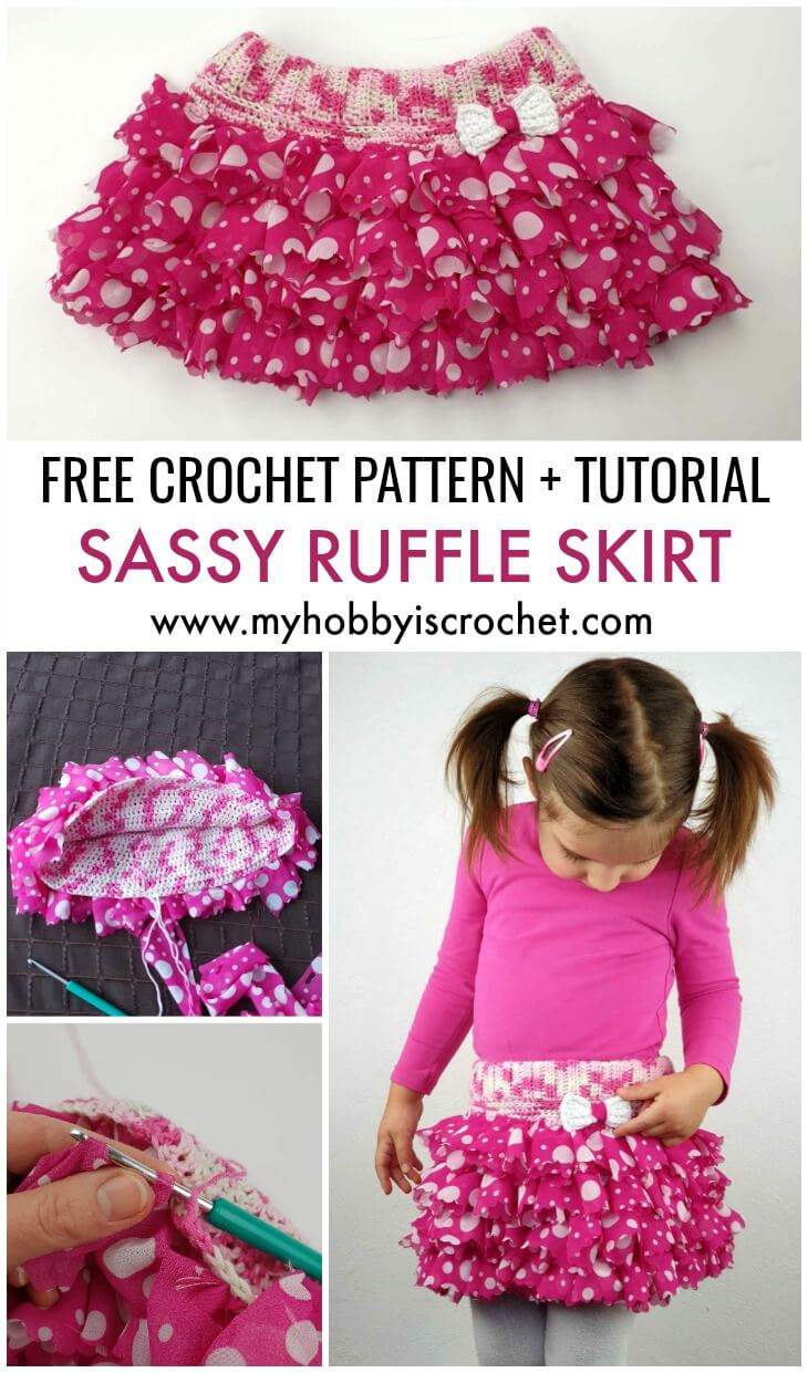 My Hobby Is Crochet Sassy Ruffle Skirt Free Crochet Pattern And