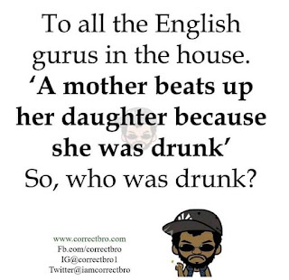 """""""A mother beat up her daughter because she was drunk."""" Who was drunk? FIND OUT!"""