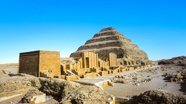 Pirâmide de Djoser/Reprodução