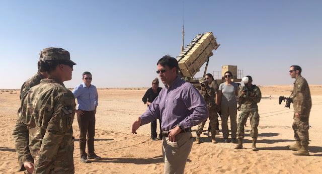 مسؤولون أمريكان: البنتاغون يدرس التحرك وإيران تعيد تمركز وانتشار القوات والأسلحة