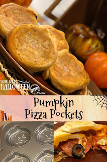 easy pumpkin pizza pockets recipe