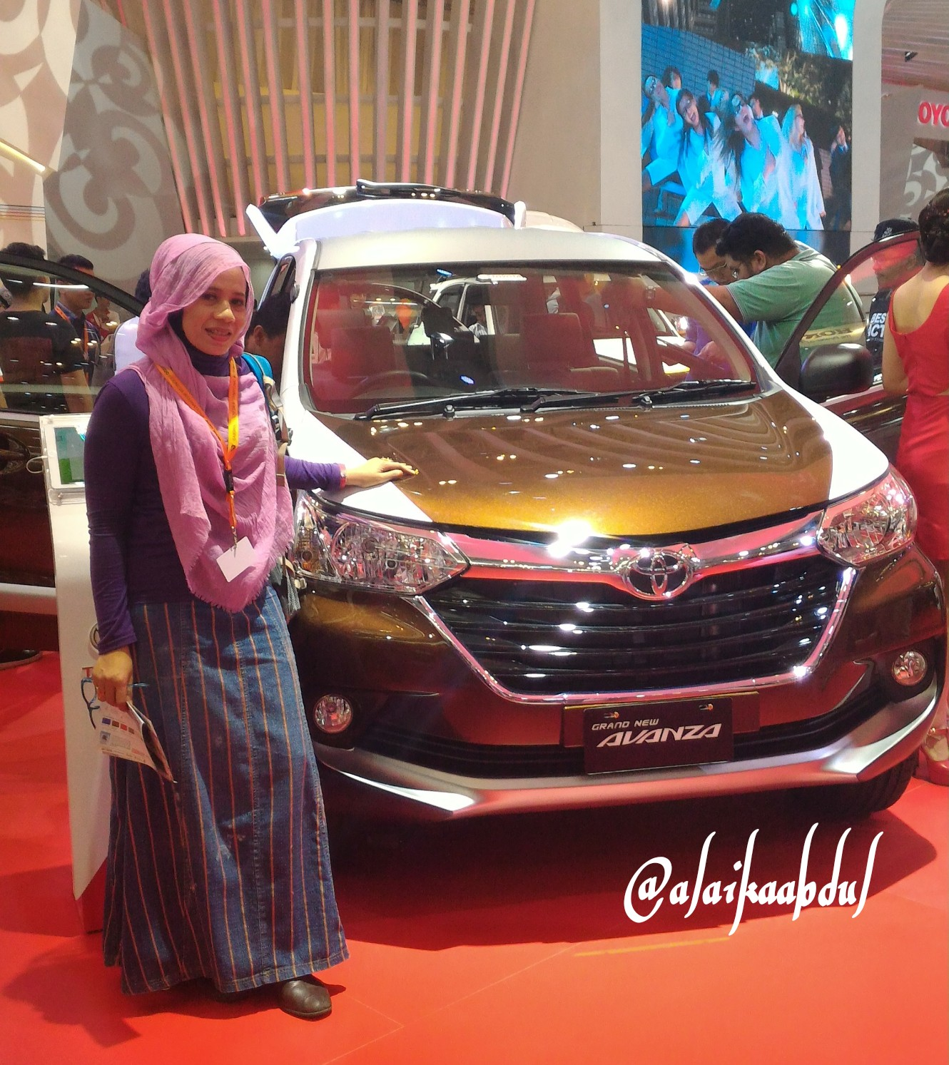 grand new avanza warna hitam veloz 1.5 92 modifikasi depan 2018 mobil