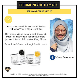 Testimoni YOUTH Mask Shaklee
