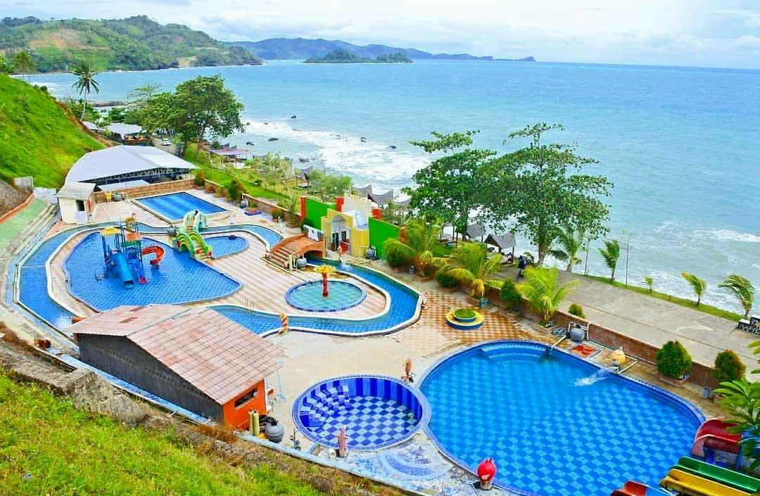 kahai beach resort di lampung selatan