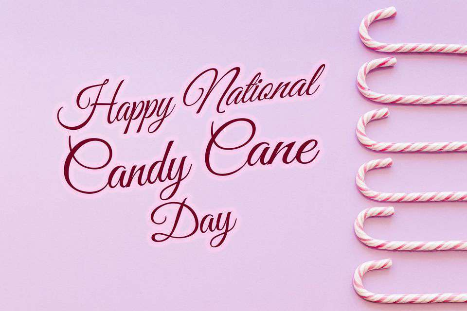 National Candy Cane Day Wishes pics free download