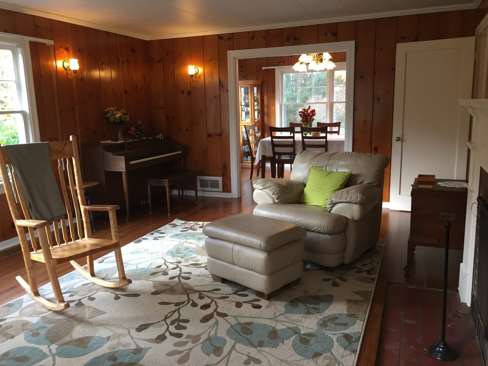 Decorating A Room With Knotty Pine Walls