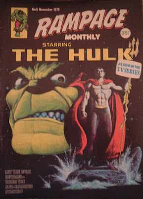 Rampage Monthly #5, the Hulk and Sub-Mariner