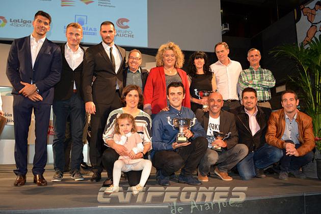 Piragüismo Aranjuez - Craviotto - Marcus Cooper - Maialen Chorraut - Cristian Toro