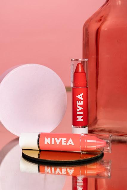 NIVEA Lip Crayon Coral crush