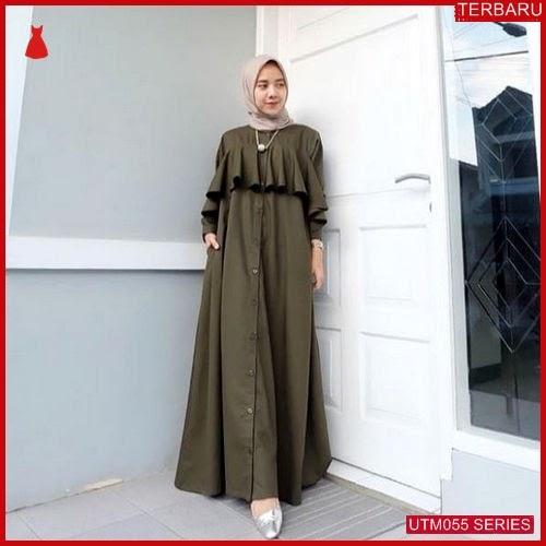 UTM055A46 Baju Aira Muslim Dress UTM055A46 037 | Terbaru BMGShop