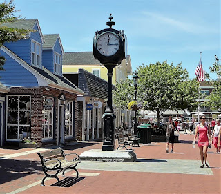 Open-Air Mall in Cape May