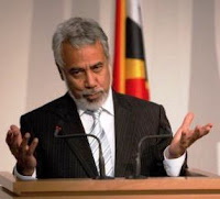 Xanana Gusmao forges coalition to oppose Fretilin government.