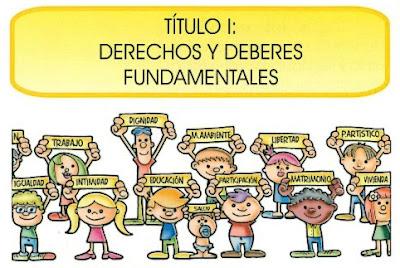 Resultado de imagen de constitución española para niños