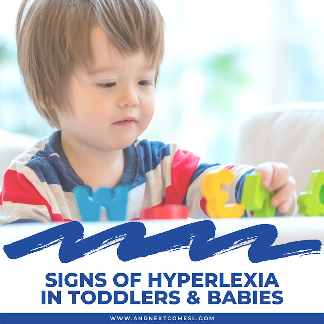 Hyperlexia in toddlers & babies