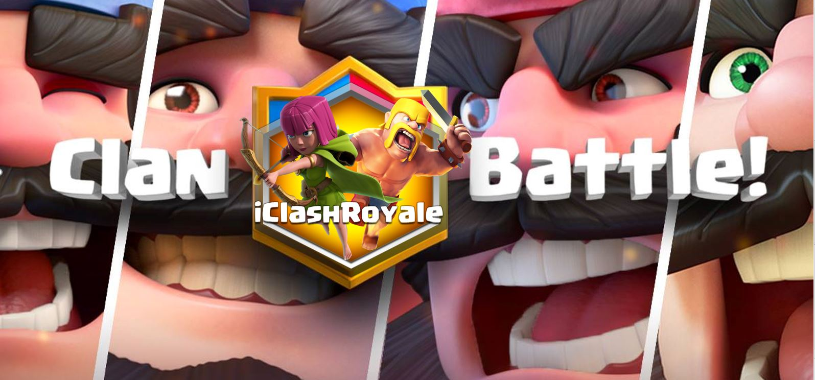 clan battle, team battle, clash royale