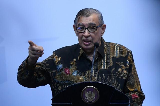 """Di Depan Jokowi, Quraish Shihab Bilang """"Menunda Keadilan adalah Kedzaliman"""""""