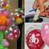 Truco para meter un globo dentro de otro globo para hacer decoraciones