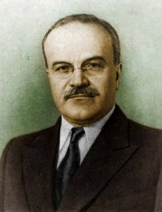 Vyacheslav Molotov | Vyacheslav Mikhailovich Molotov Skryabin Popularly known as Vyacheslav Molotov