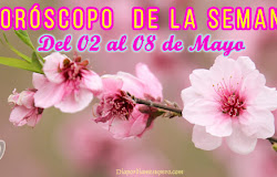 🌟 Horóscopo de la semana: Del 02 al 08 de mayo