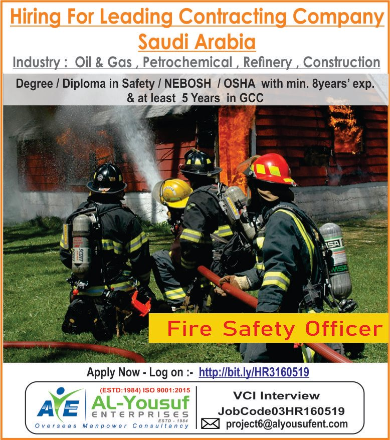 Fire Safety Office for Saudi Arabia