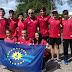 Atletas duraznenses partieron rumbo al sudamericano de Triatlón