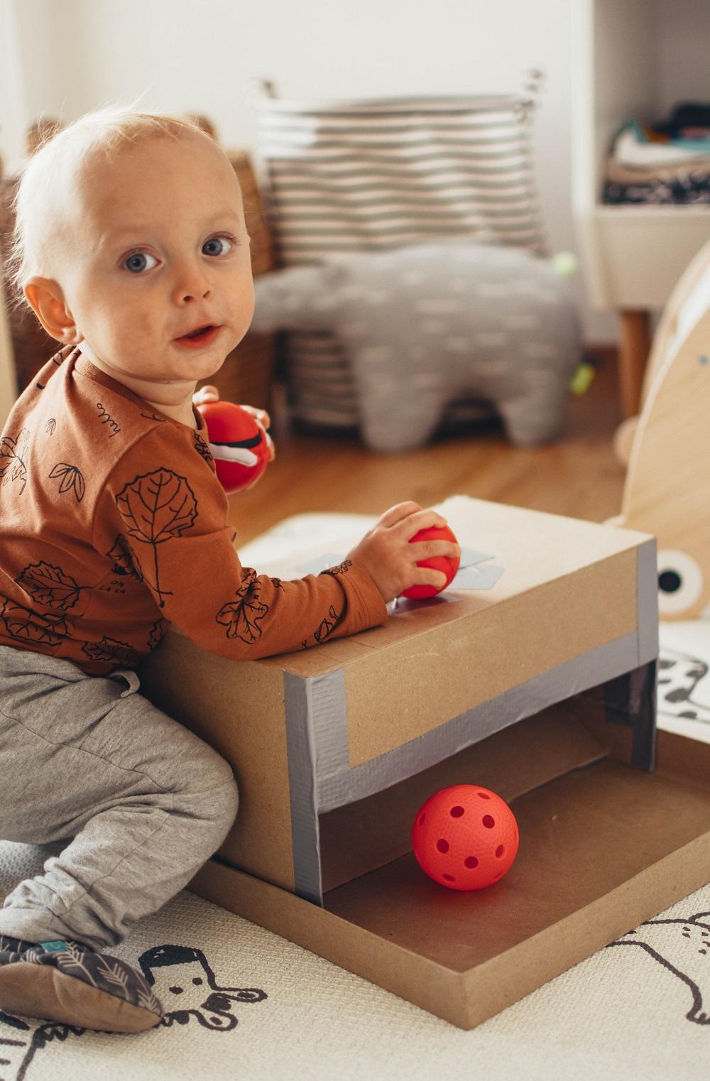 DIY// Montessori hra pro nejmenší