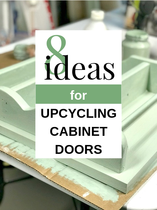 green cabinet with overlay