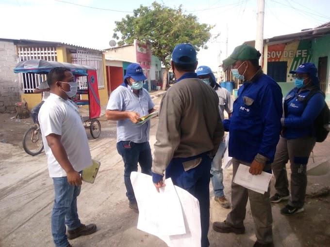 Arrancó fase previa del proyecto de normalización de redes en Puebloviejo