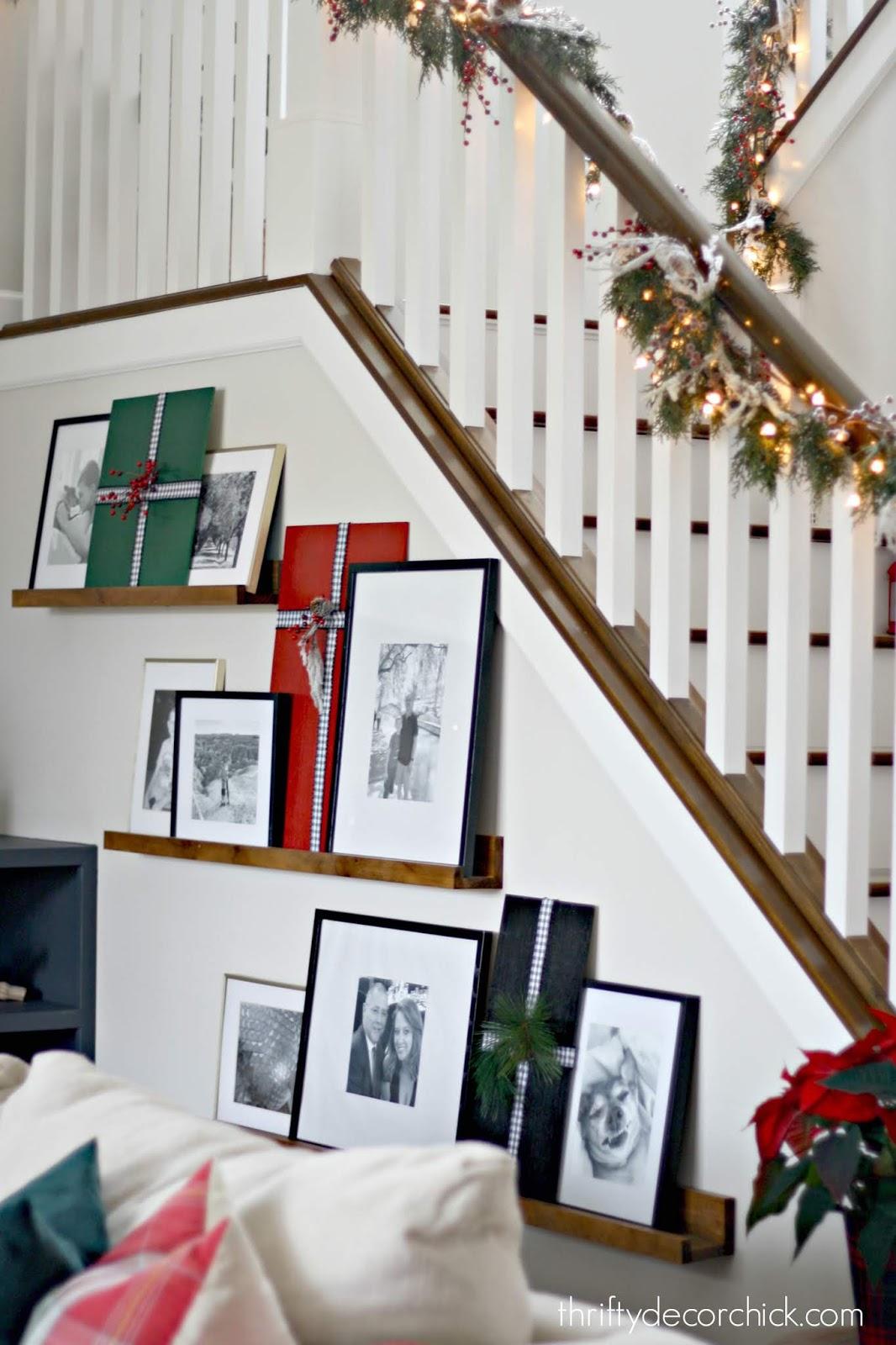 DIY Christmas present art craft