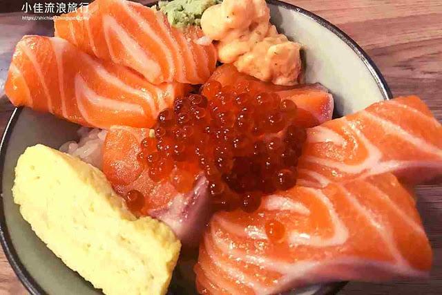 千幸壽司 鮭魚親子丼