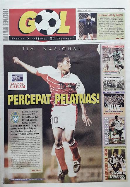 KURNIAWAN DWI YULIANTO TIM NASIONAL INDONESIA 1998