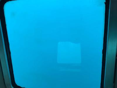 支笏湖の水中