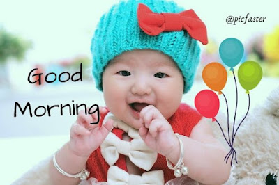 Cute Baby Good Morning Images Download
