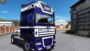 Metallic 02 Skin DAF XF 105